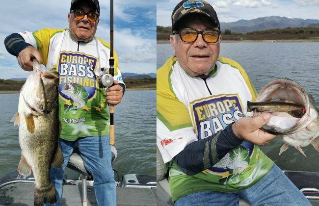 What a lunker, Victor Taboada got this bucketmouth with the  Ubuntu Popper on his last fishing trip. Awesome!